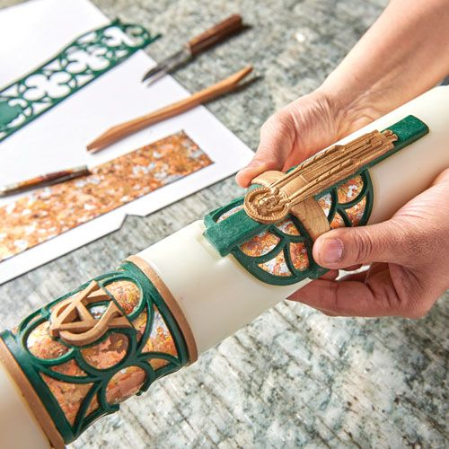 The History and Symbolism of the Paschal Candle #Wilmington #Catholic