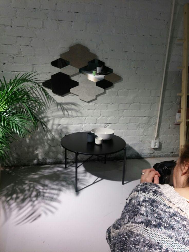 Photoshoot of Tilkku wall element by STUDIO smoo