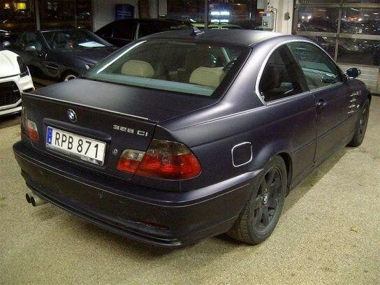 Bmw 328ci / 1998 / Sweden