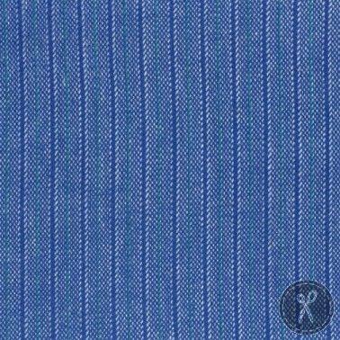 Primo Plaid Flannel Fabric Stripe - Blue