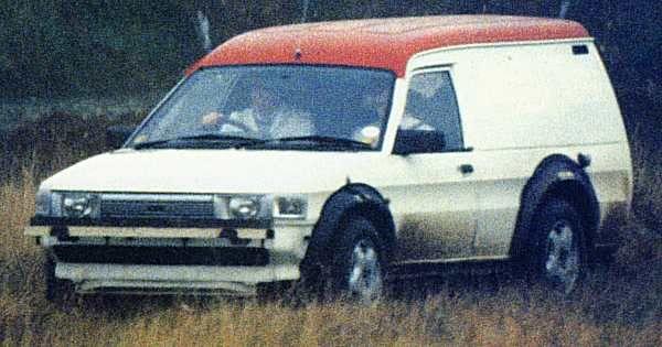 Freelander 1 pre production mule. Maestro van.