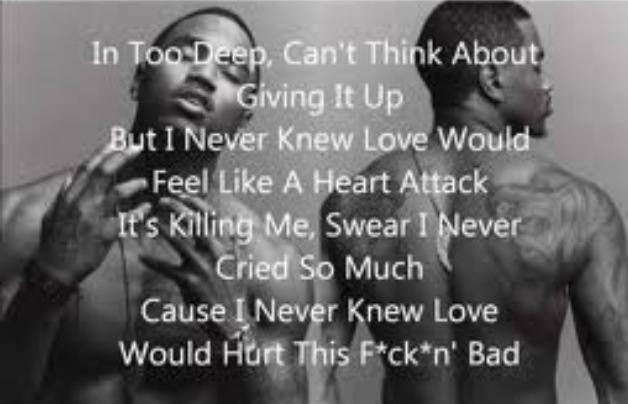 """Trey Songz-Heart Attack.  """"We share something so charming...  Still so rare, and I'm in awe....Never been here before.....So high, we're still climbing....Even here inside these walls....Breaking each other's hearts...And we don't care....."""" ♥"""
