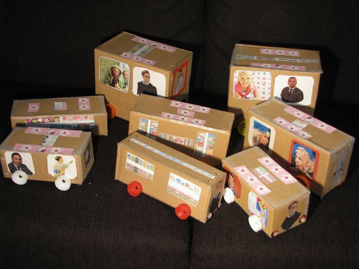 coches infantiles con cajas