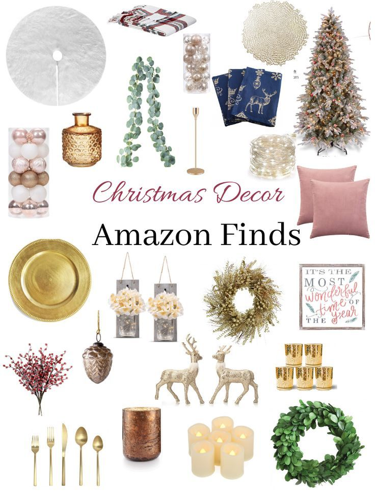 Amazon Christmas Decor Finds Amazon Christmas Decorations Christmas Decorations Christmas Mantle Decor