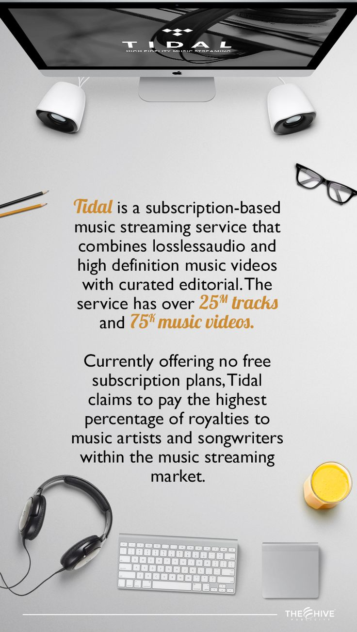 """Tidal was launched in 2014 by Swedish/Norwegian public company Aspiro. It has distribution agreements with all of thethree major labels, in addition to many indies. In the first quarter of 2015, the parent company Aspiro was acquired by Project Panther Ltd., which is owned by Shawn """"Jay Z"""" Carter.  Source: http://en.wikipedia.org/wiki/Tidal_(service)"""