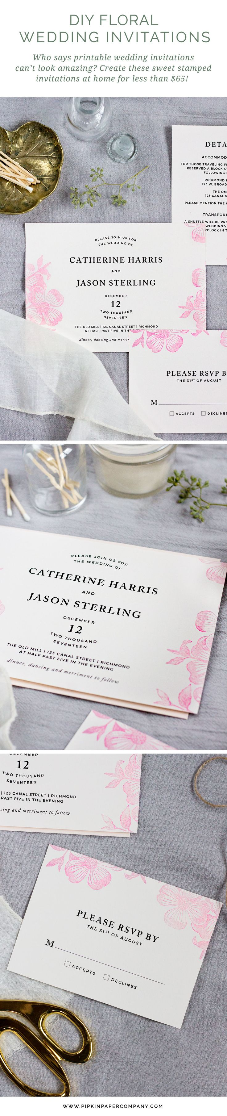 40 best Rustic Wedding Invitations images on Pinterest | Wedding ...