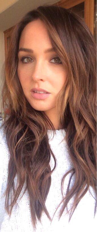 Camilla Luddington (Jo Wilson) selfie. Grey's Anatomy. [Camilla's Instagram]