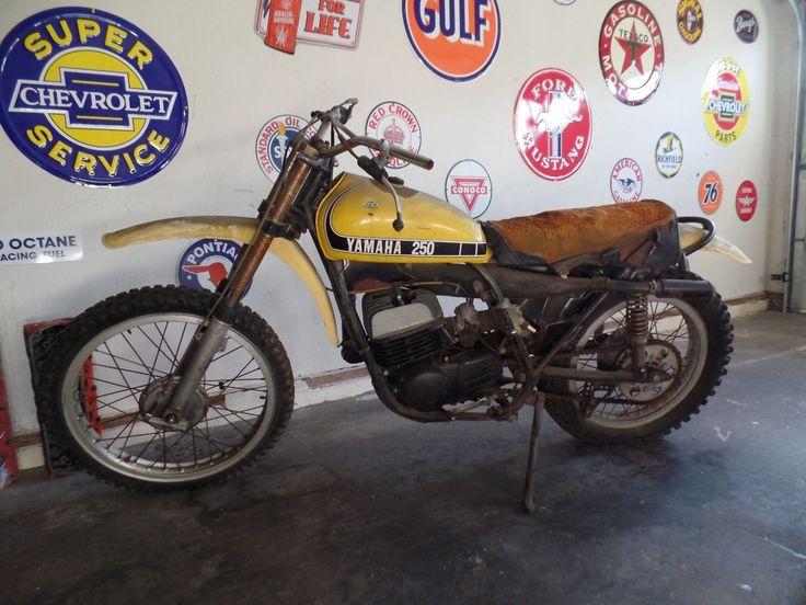 1974 Yamaha YZ 250 Dirt Bike | eBay