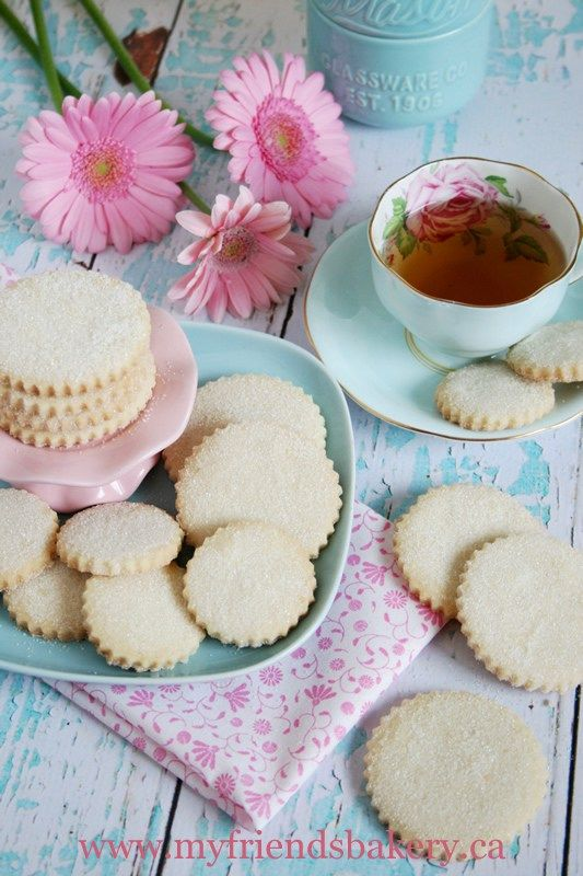 Sunday Nights With Lawrence Welk And Vanilla Sugary Shortbread Cookies | My Friend's Bakery