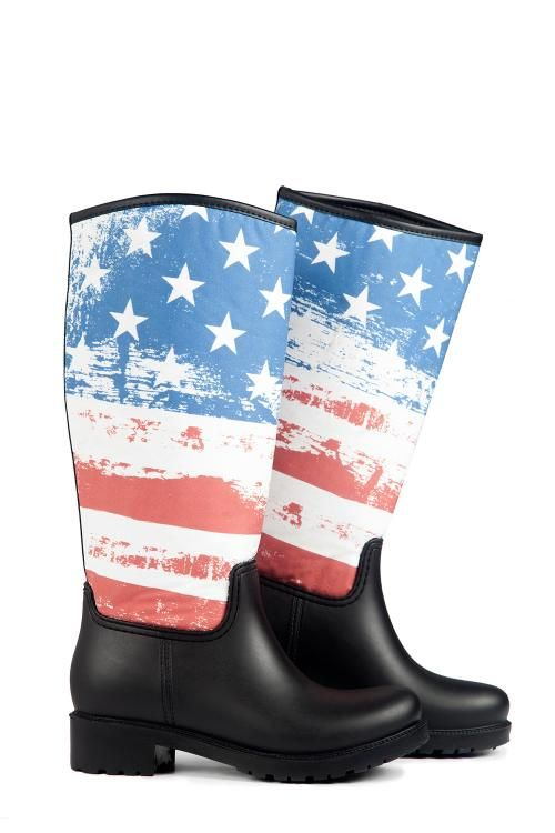 Uzun Yağmur Çizmesi - Flag | Nemoda.com.tr