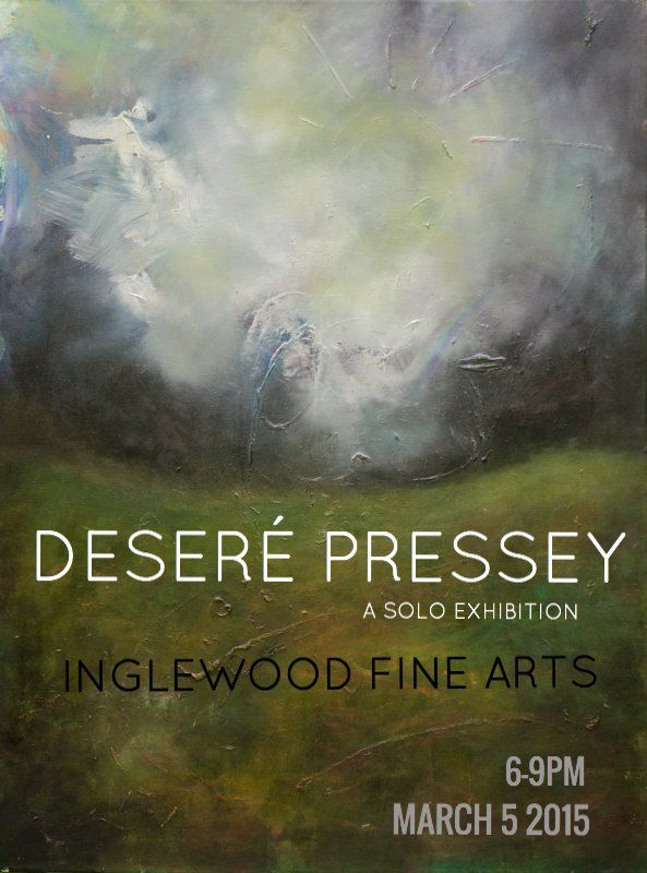 *Save the date* Desere Pressey - Solo Exhibition