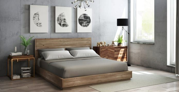 Best 25 king size bed frame ideas on pinterest diy bed for Bedhead storage ideas