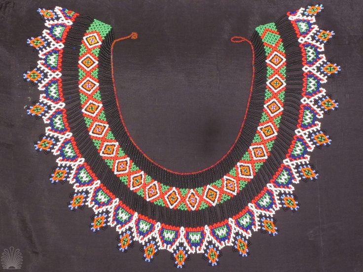 Handmade necklace. Amazonia style!