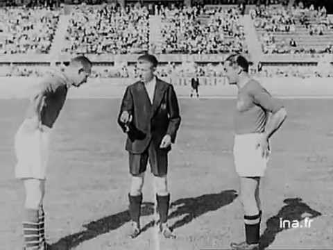 World Cup 1938 first round, quarter-finals, semi-finals & final   www.dribblingman.com
