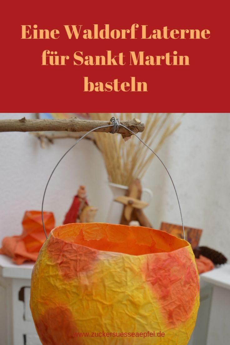 Eine Waldorf Laterne für Sankt Martin basteln – Familien- und Reiseblog Zuckersüße Äpfel