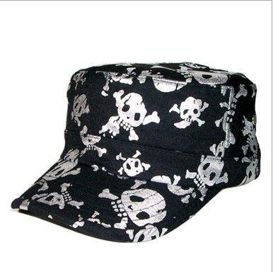 Лето золотой череп бейсболка скелет досуга шляпу женский хип-хоп спорт шляпа мужской открытый вс спортивные шапки для весна лето осень