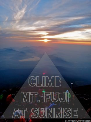 Climbing Mt Fuji in One Day on a Budget.