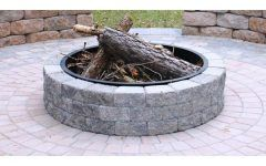 Outdoor Fire Pit Ring Insert outdoor fire pit ring insert | fireplace design ideas