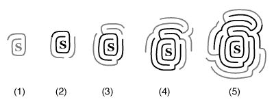 Leran how to draw mazes : Drawing mazes using kernels