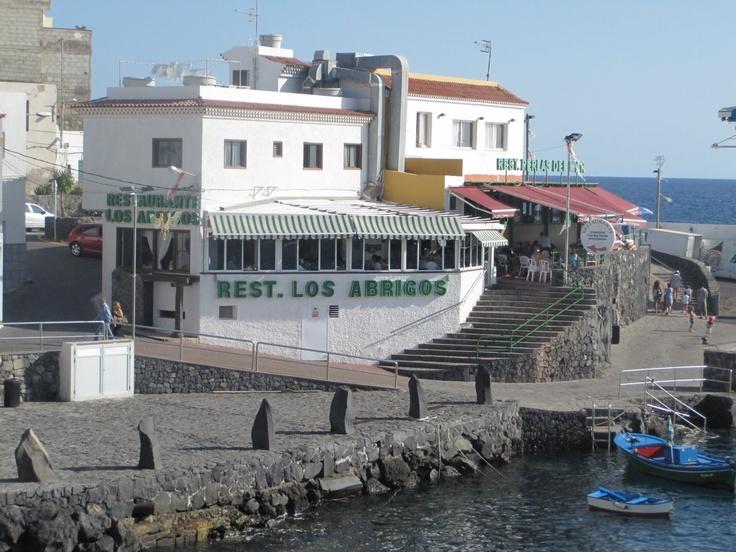 Restaurante Los Abrigos, pescado y marisco fresco fresco :)