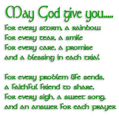irish poems blessings | http://www.myspace.com/terry2u#!