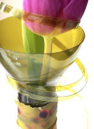 DIY -kukka pullossa @asuntomessublogit