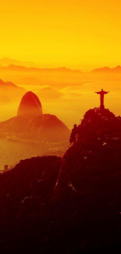 Christ the Redeemer and Sugar Loaf :: Rio De Janeiro, Brazil. ♡