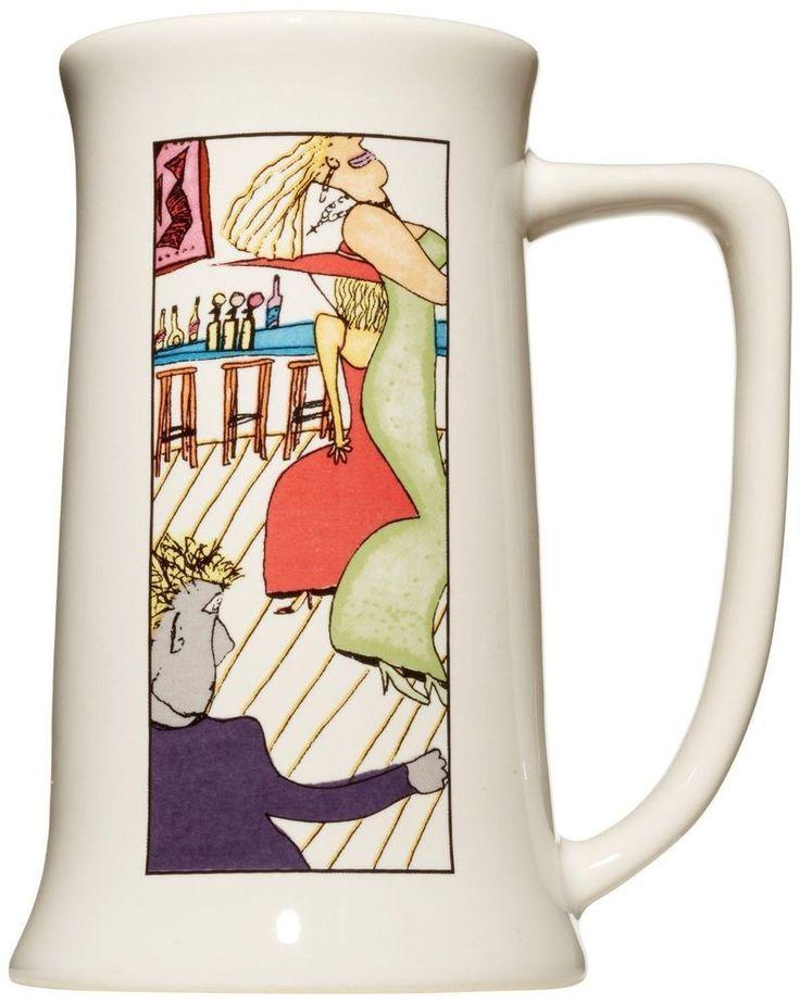 Funky Coffee Mug Designed by Ron Howard, Bar Scene Rerun, 18 ounce (R) #DekstraCerbo