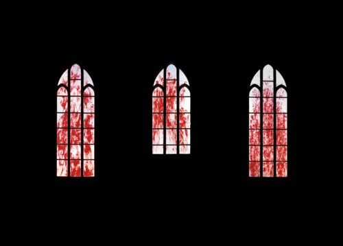 I don't remember much...on that night at the Alistar Church. Just a burning pain in my chest, a high-pitched scream, maybe it was mine, I don't know. Strangly enough...it's the windows I remember the most. The blood splattering...the glass shattering. (Wren)