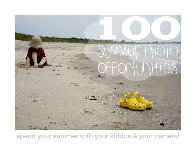 100 summer photo opportunities