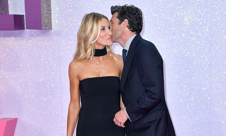 patrick dempsey and jillian latest news | Family affair for Patrick Dempsey at Bridget Jones's Baby premiere