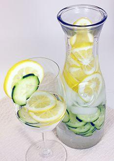 fogyókúrás víz