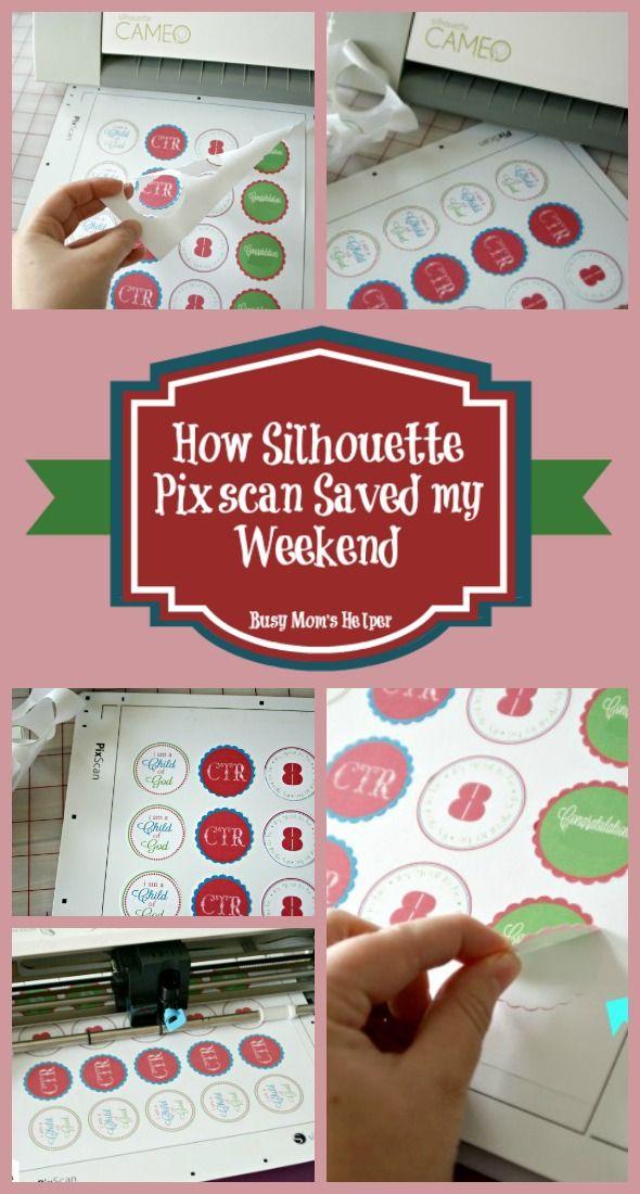 How Silhouette Pixscan Saved My Weekend / by Busy Mom's Helper #Silhouette #PixScan #CuttingMachines