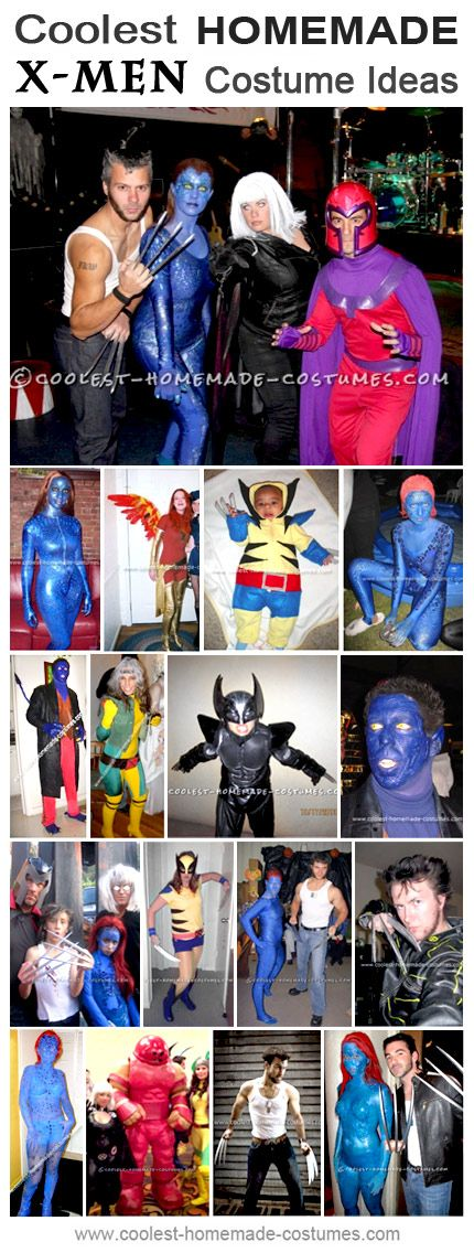 Homemade X-Men Costumes Collection - Coolest Halloween Costume Contest