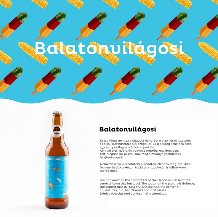 Hedon Craft Brewery Identity - Art Direction on Behance by Flying Objects.