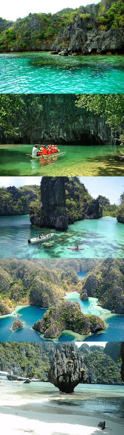 the puerto princesa subterranean river national park, philippines  #Puerto Princesa #philippines #TravelDestination