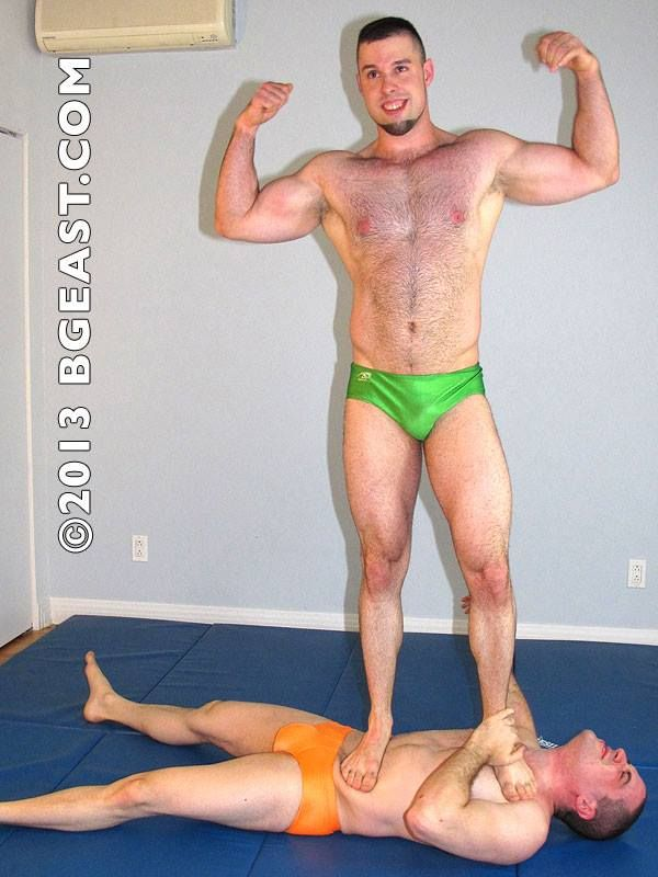 Gay Male To Submission Wrestling Domination - Hot Nude-4748