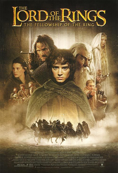 lotr fellowship of the ring film poster - Google Search