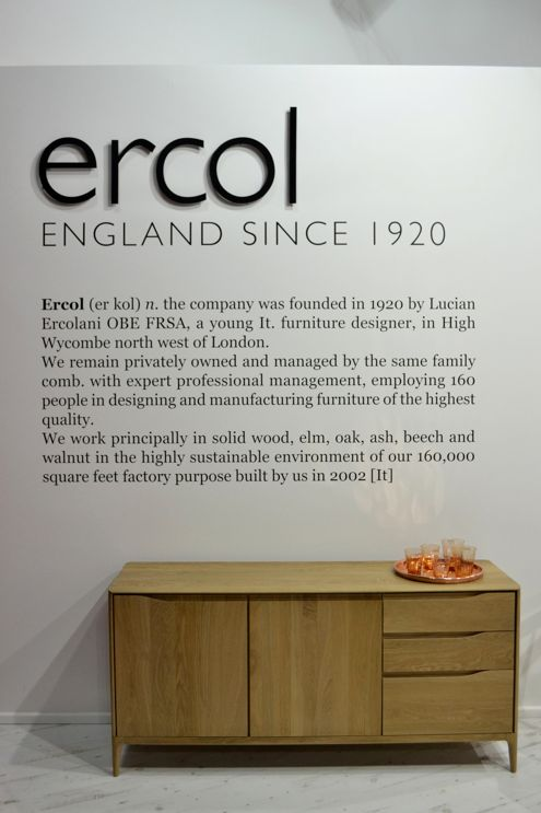 Beau Ercol At Milan 2014 Www.ercol.com. Large SideboardErcol SideboardFurniture  MakersFurniture ...