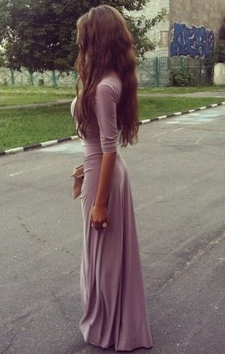 i adore this dress. simple and chic