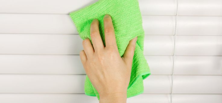 Q: How do you clean faux wood blinds? – Jackie L. A: With our Easy Clean Duster! In addition to cleaning several slats at once, it cleans both sides of the slats at the same time. You can use