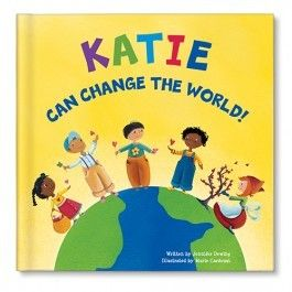 I Can Change The World Personalized Book
