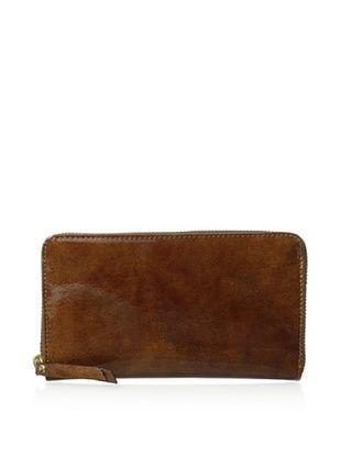 55% OFF Rowallan of Scotland Women's Valentina Zip-Around Wallet, Cognac