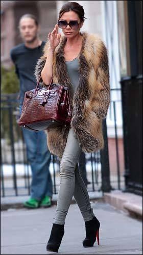 Victoria Beckham..love...the booties..