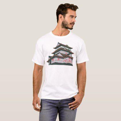Japanese Pagoda T-Shirt  $17.95  by CuriousCorner  - custom gift idea
