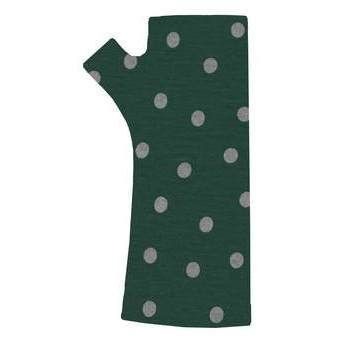New Zealand Merino Gloves in Emerald Green with Polkadot Print by Kate Watts  http://www.silverfernz.com/3810-merino-gloves-in-emerald-green-with-polkadot-print-by-kate-watts.htm