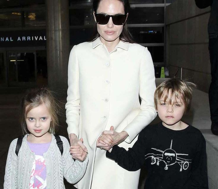 Thinning Angelina Jolie Spotted with Her Twins Out Shopping – Is She Okay? #AngelinaJolie, #BradPitt, #Divorce, #Health, #Kids, #Twins celebrityinsider.org #Hollywood #celebrityinsider #celebrities #celebrity #rumors #gossip