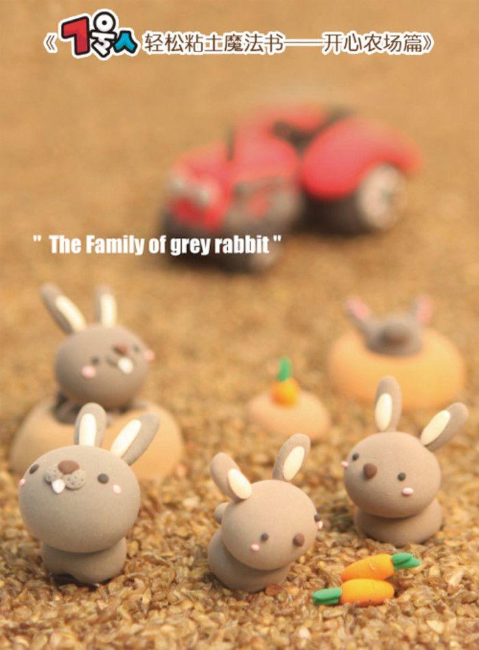 Rabbit figurines!