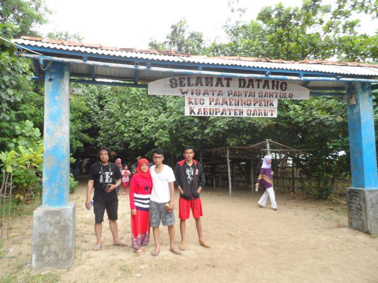 gerbang pulau santolo