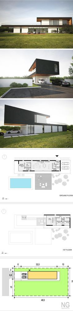 modern villa by NG architects www.ngarchitects.lt
